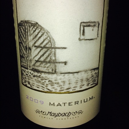 Maybach Family Vineyards Materium Cabernet Sauvignon 2013 (375ml)