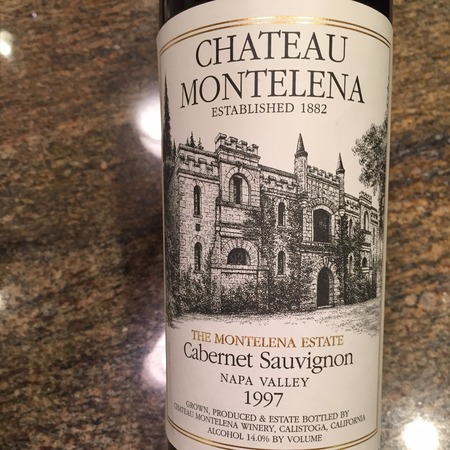Chateau Montelena The Montelena Estate Calistoga Cabernet Sauvignon 1997 (1500ml)