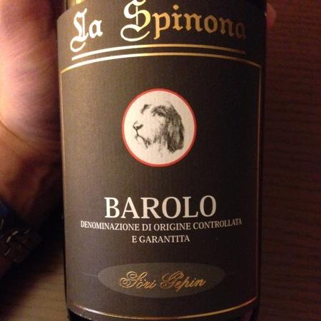 La Spinona (Pietro Berutti) Söri Gepin Barolo Nebbiolo 2010