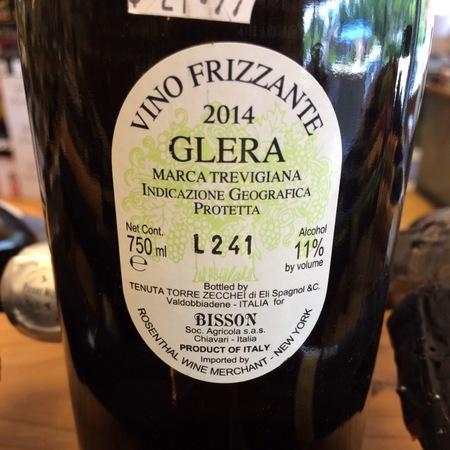 Bisson Marca Trevigiana Frizzante Glera  2014