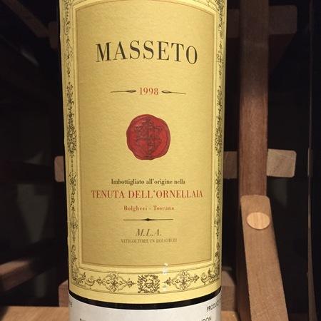 Masseto Masseto 1998