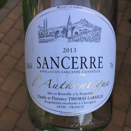 Thomas-Labaille L'Authentique Sancerre Rosé Pinot Noir NV