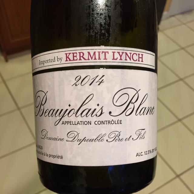 Beaujolais Blanc Chardonnay 2014