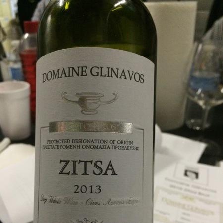 """Domaine Glinavos """"Protos Inos"""" Zitsa White Blend 2013"""