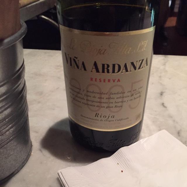 Viña Ardanza Reserva Especial Tempranillo Blend 2005 (375ml)