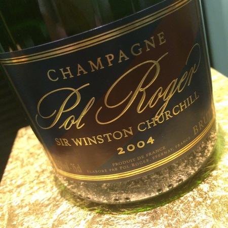 Pol Roger Sir Winston Churchill Brut Champagne Chardonnay 2004
