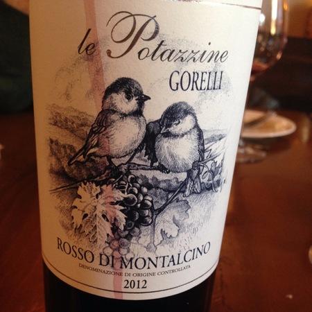 Tenuta Le Potazzine le Potazzine Gorelli Brunello di Montalcino Sangiovese 2012