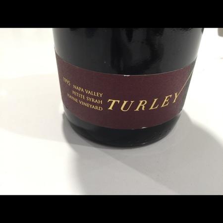 Turley Hayne Vineyard Petite Syrah 1995