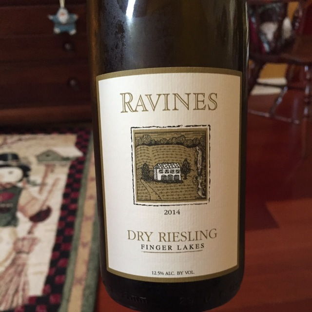 Finger Lakes Dry Riesling  2014