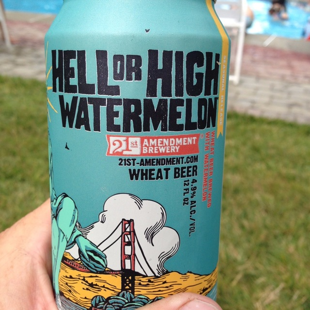 Hell or High Watermelon Wheat Beer NV