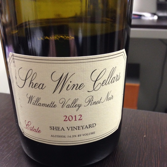 Shea Vineyard Homer Pinot Noir 2012