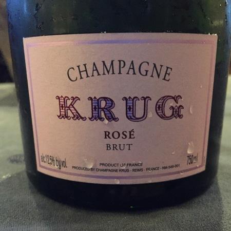 Krug Brut Champagne Rosé Blend NV