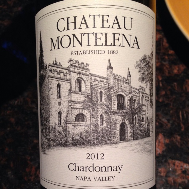 Napa Valley Chardonnay 2012