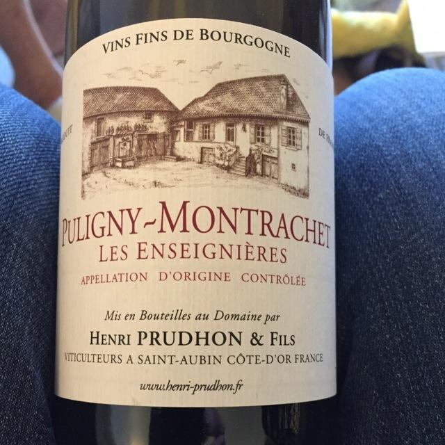 Les Enseignières Puligny-Montrachet Chardonnay 2013