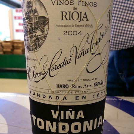 R. López de Heredia Viña Tondonia Reserva Rioja Tempranillo Blend 2004 (375ml)