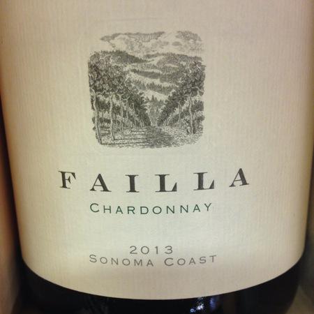 Failla Sonoma Coast Chardonnay 2013