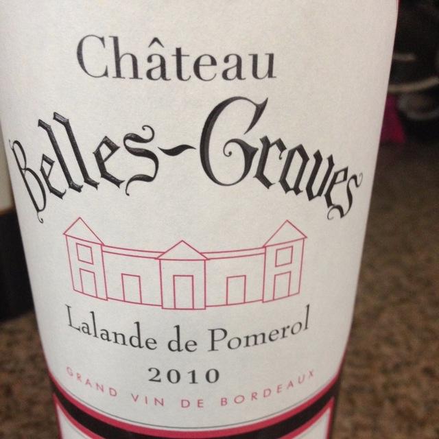 Lalande de Pomerol Red Bordeaux Blend  2010