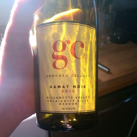 Grochau Cellars Eola-Amity Hills Gamay Noir 2014