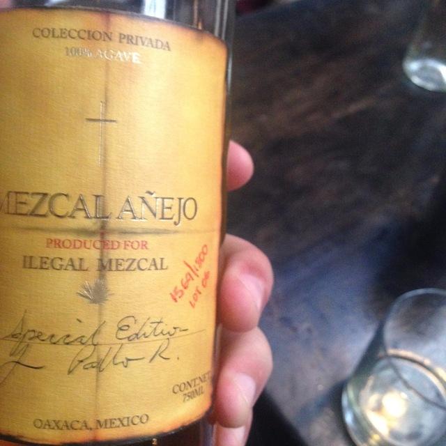 Coleccion Privada Special Edition Mezcal Anejo NV