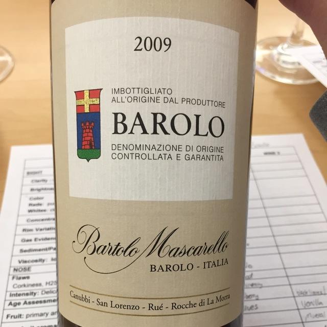Barolo Nebbiolo 2009