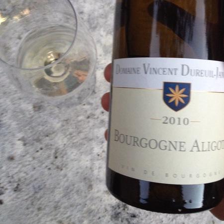 Domaine Vincent Dureuil-Janthial Bourgogne Aligoté 2015