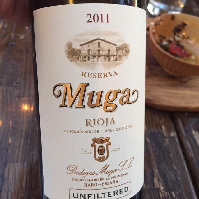 Unfiltered Reserva Rioja Tempranillo Blend 2011