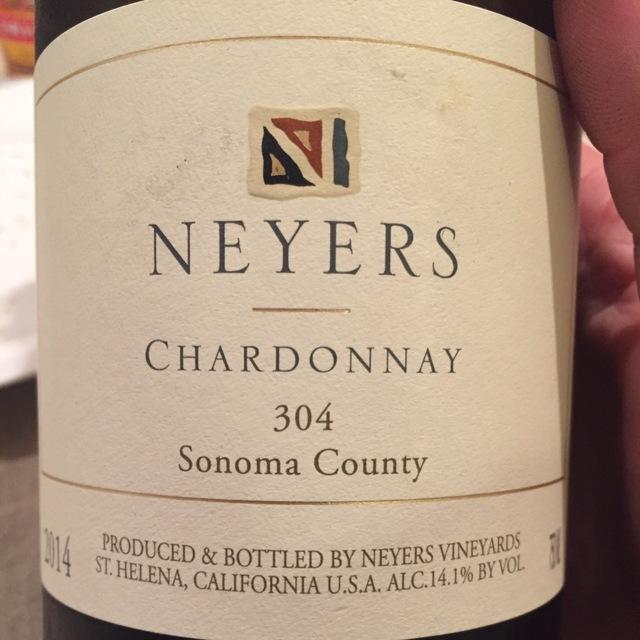 304 Sonoma County Chardonnay 2014
