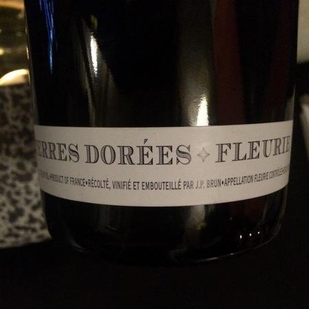 Domaine des Terres Dorées (Jean-Paul Brun)  Fleurie Gamay 2015