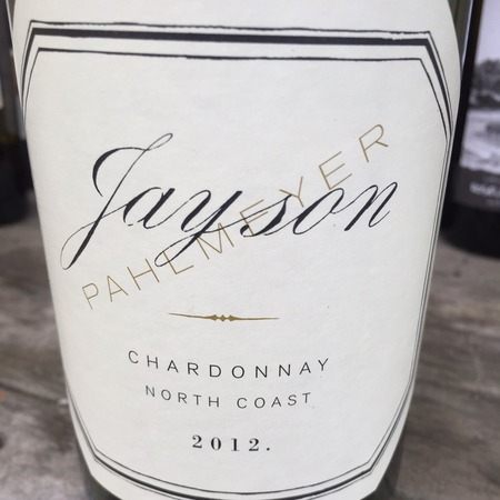Pahlmeyer Jayson North Coast Chardonnay 2013