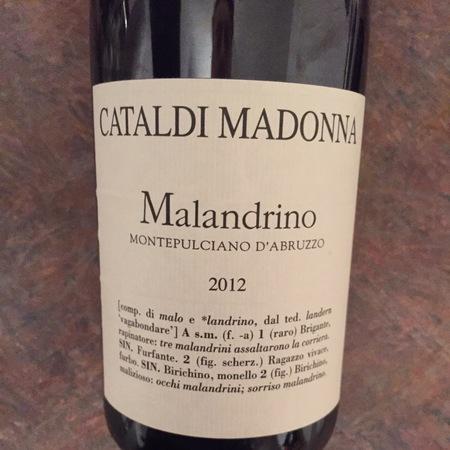 Cataldi Madonna Malandrino Montepulciano d'Abruzzo 2015