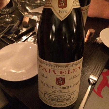 Domaine Faiveley (Joseph Faiveley) Les Damodes Nuits St. Georges 1er Cru Pinot Noir 1998