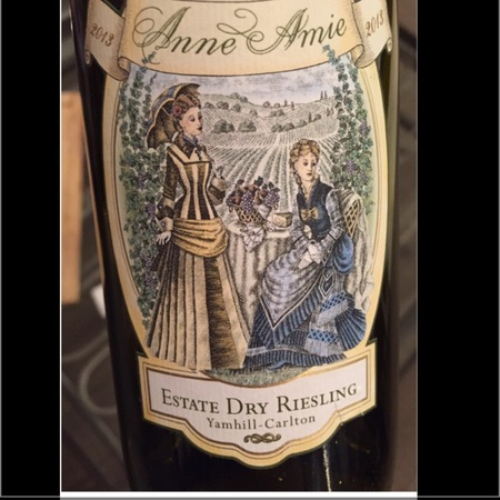 Anne Amie Yamhill-Carlton Estate Dry Riesling 2013