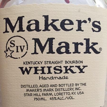 Maker's Mark Kentucky Straight Bourbon Whisky NV
