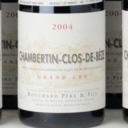 Bouchard Père et Fils Chambertin-Clos de Bèze Grand Cru Pinot Noir 2004