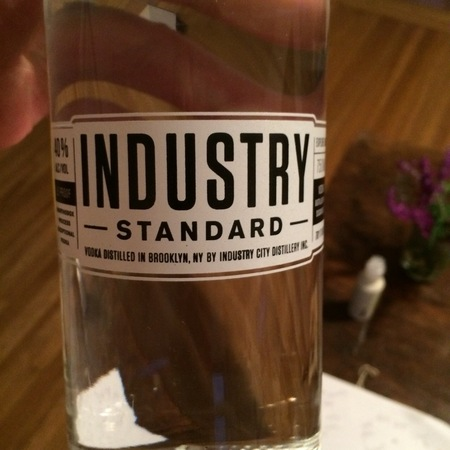 Industry City Distillery Industry Standard Vodka NV