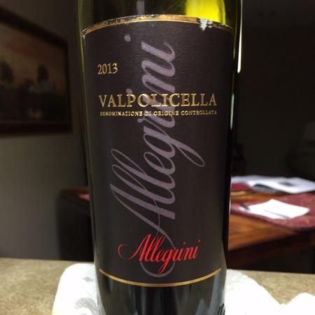 Allegrini Amarone della Valpolicella Classico Corvina Blend 2013