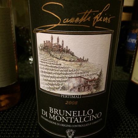 Pertimali (Livio Sassetti) Brunello di Montalcino  Sangiovese 2014