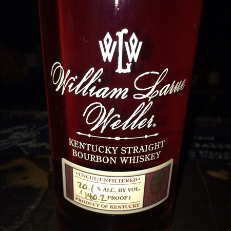 Buffalo Trace Distillery William Larue Weller Kentucky Straight Bourbon Whiskey NV