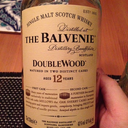 The Balvenie Distillery DoubleWood Aged 12 Years Single Malt Scotch Whisky NV