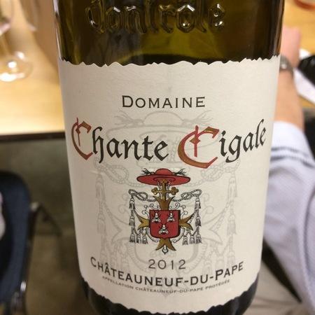 Domaine Chante Cigale Châteauneuf-du-Pape Blanc White Rhone Blend 2016