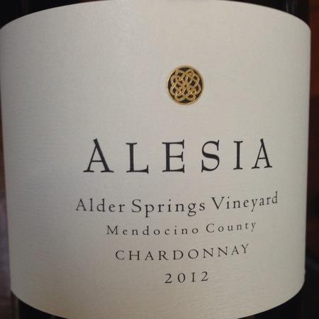 Alesia Alder Springs Vineyard Chardonnay 2012