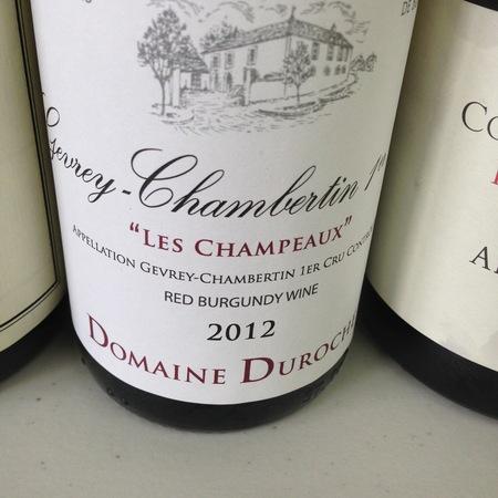 Domaine Duroche Les Champeaux Gevrey-Chambertin 1er Cru Pinot Noir 2015