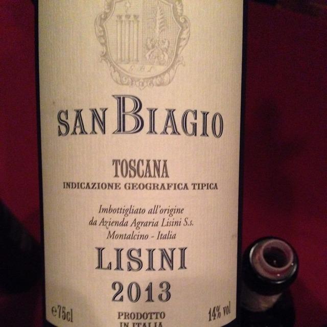 San Biagio Toscana Sangiovese 2013