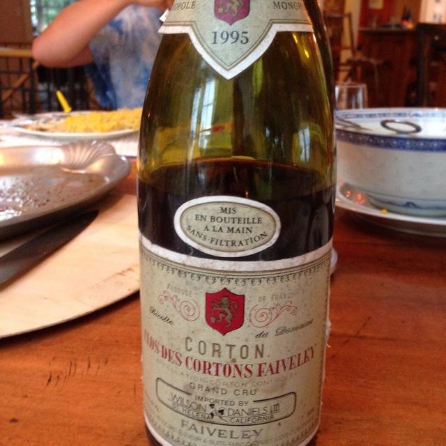 Clos des Cortons Faiveley Monopole  Grand Cru Pinot Noir 1995