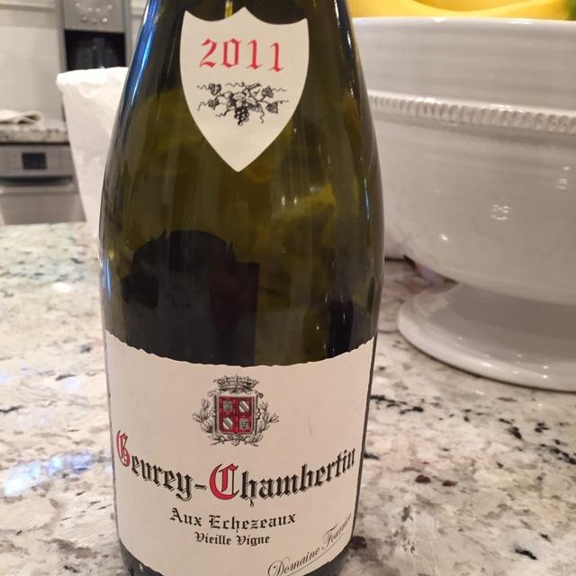 Aux Echezeaux Vieille Vigne Gevrey-Chambertin Pinot Noir 2014