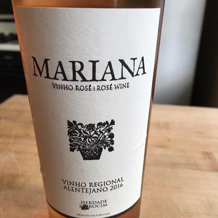 Herdade Do Rocim Mariana Alentejo Rosé Blend 2016