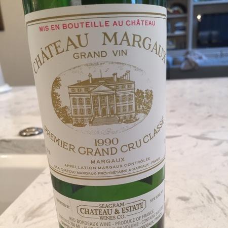 Château Margaux Margaux Premier Grand Cru Classé Red Bordeaux Blend 1983