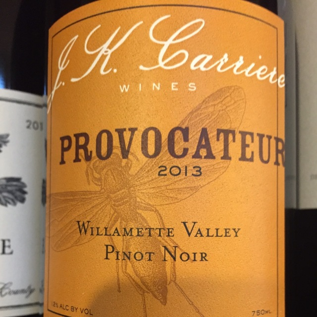 Provocateur Willamette Valley Pinot Noir 2013