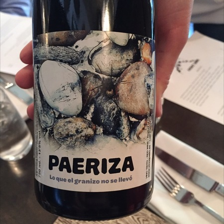Vinos Patio Paeriza Red Blend 2015