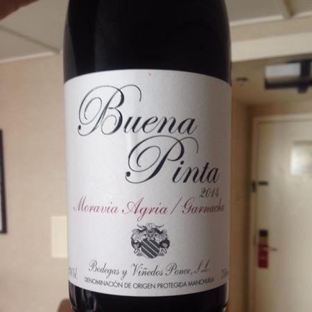 Bodegas y Vinedos Ponce Buena Pinta Manchuela Red 2014